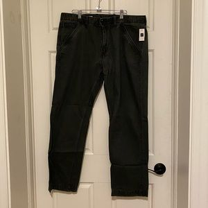 NWT Gap Dark Gray/Faded Black Casual Pants 36x30